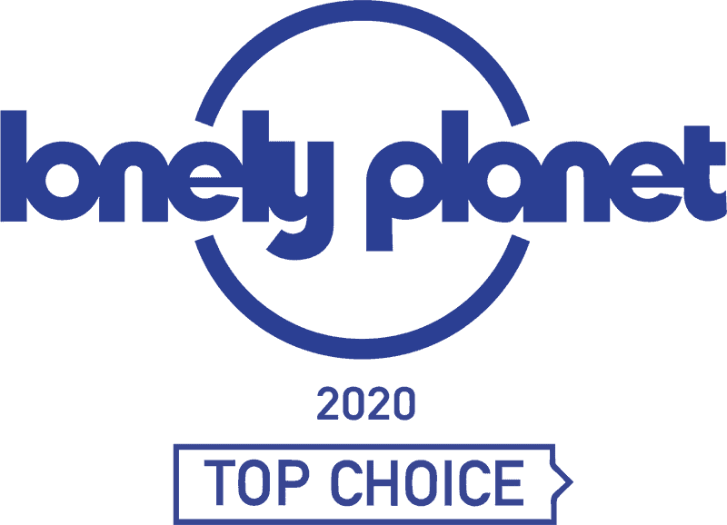 Lonely Planet Top Choice 2020 Logo