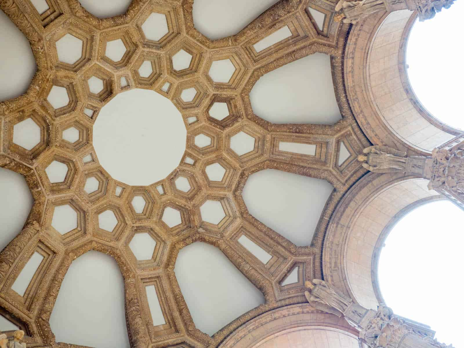 Palace of Fine Arts Dome Restored