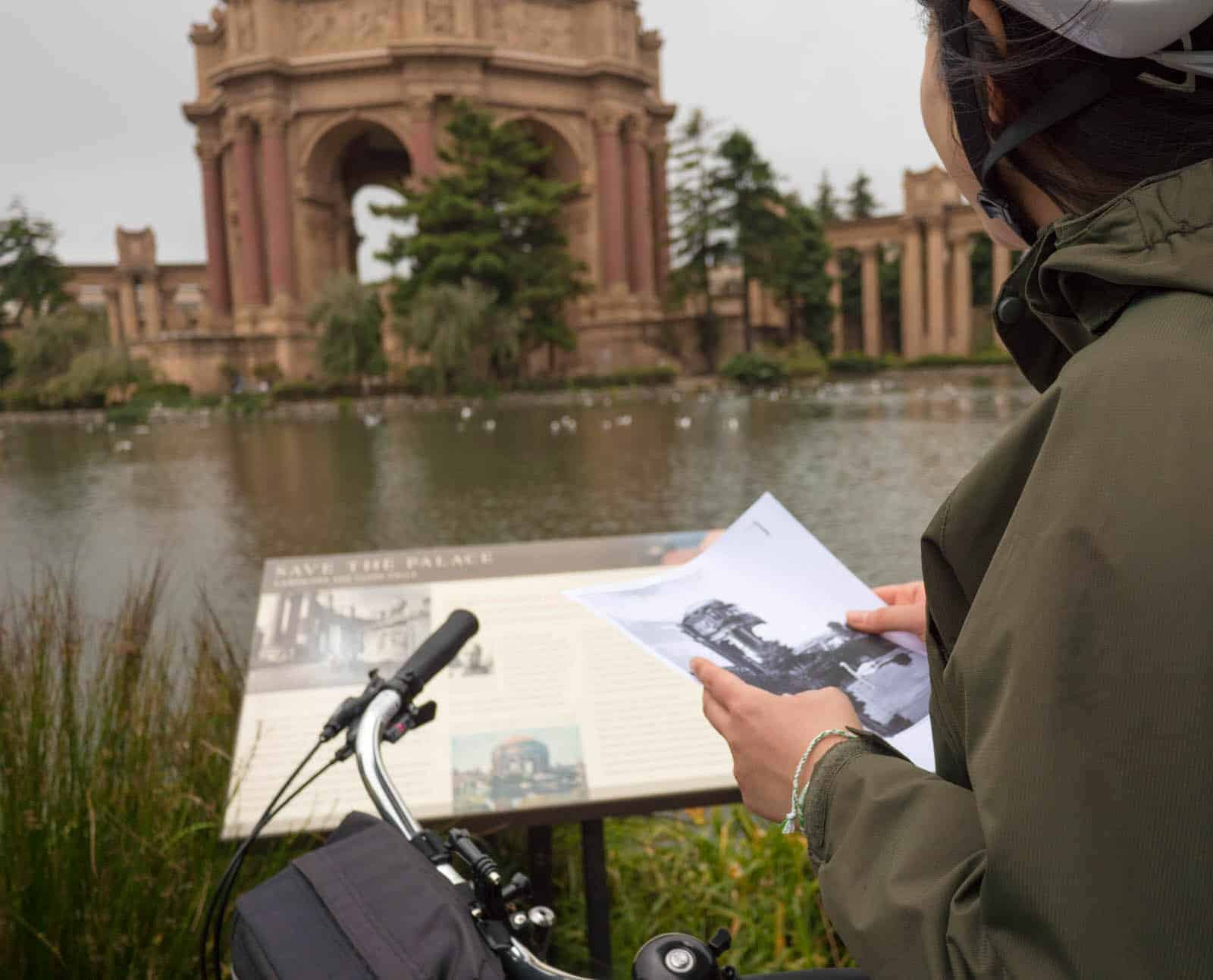 Palace of Fine Arts San Francisco history tour